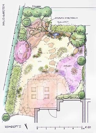 gartengestaltung j. lonsdorf - bonn - bad godesberg, Garten ideen